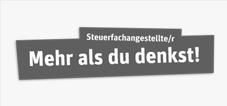 Steuerfachangestellter - Mehr als du denkst Logo