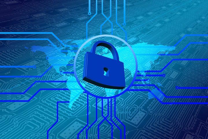 Bild mit Schloss, Datenschutz